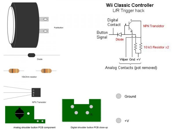 wii classic controller padhacking for tatsunoko  u2014 shoryuken
